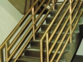 Brass Rails Stainless Steel Stringer